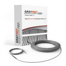 Тёплый пол Gray Hot cable 15 186Вт